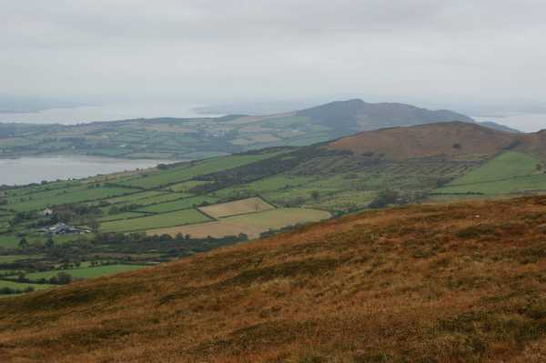 MountainViews.ie Picture about mountain Mouldy Hill in area Inishowen, Ireland