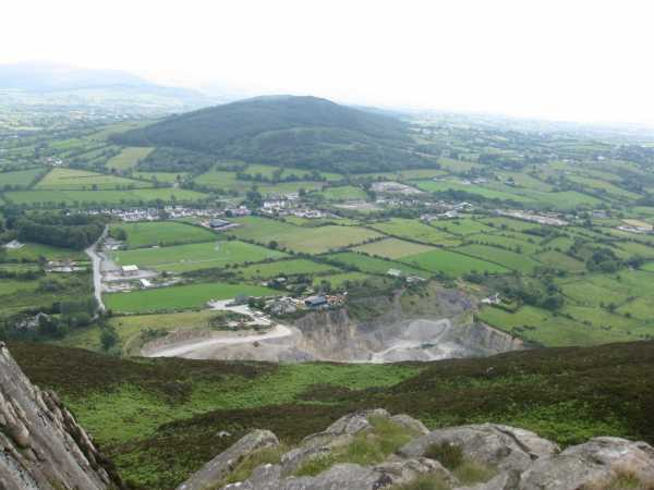 MountainViews.ie Picture about mountain Croslieve in area Cooley/Gullion, Ireland