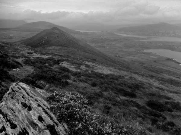 MountainViews.ie Picture about mountain Killelan Mountain in area Iveragh NW, Ireland