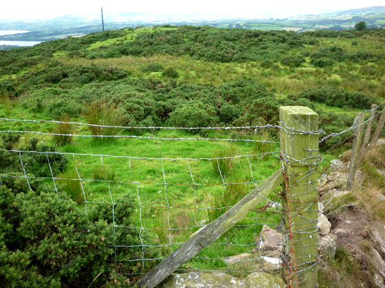 MountainViews.ie Picture about mountain Clondermot Hill in area Sperrin Mountains, Ireland