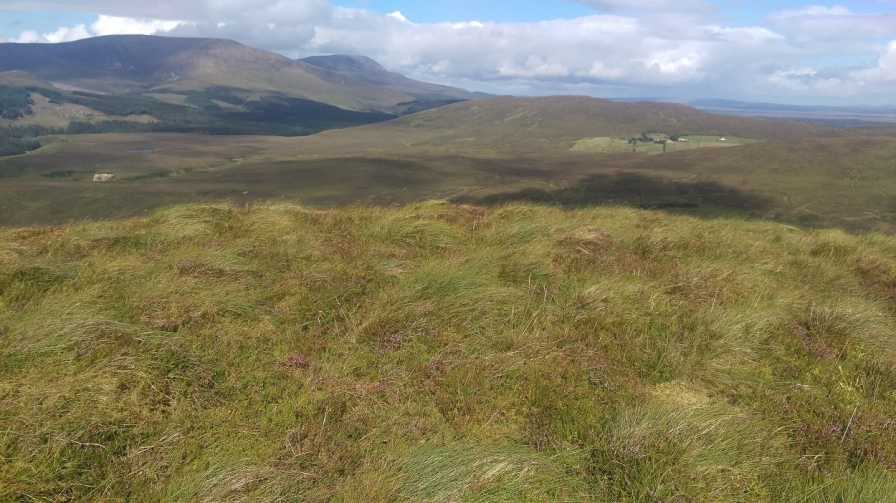 MountainViews.ie Picture about mountain Srahrevagh North in area North Mayo, Ireland