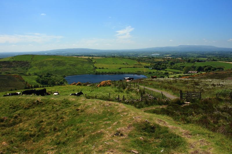 MountainViews.ie Picture about mountain Topped Mountain in area Fermanagh/S Tyrone, Ireland