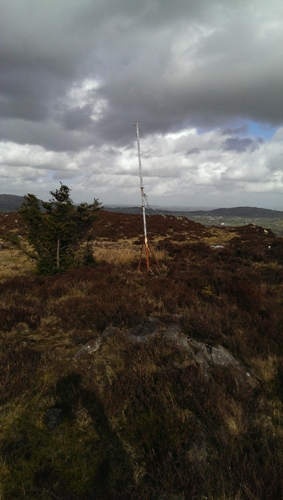 MountainViews.ie Picture about mountain Faughil in area Cooley/Gullion, Ireland