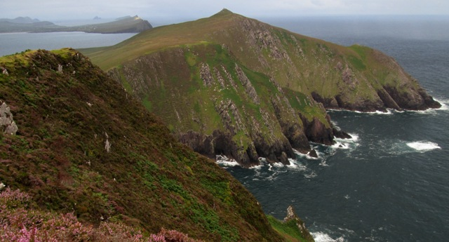 MountainViews.ie Picture about mountain Beenmore in area Dingle West, Ireland