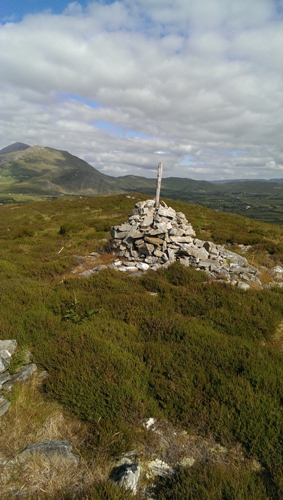 MountainViews.ie Picture about mountain Kinknock Hill in area Croagh Patrick, Ireland
