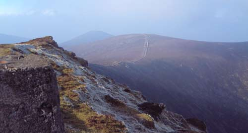 MountainViews.ie Picture about mountain Knockmealdown in area Knockmealdown Mountains, Ireland