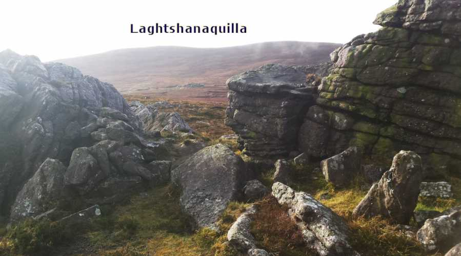 MountainViews.ie Picture about mountain Laghtshanaquilla in area Galty Mountains, Ireland